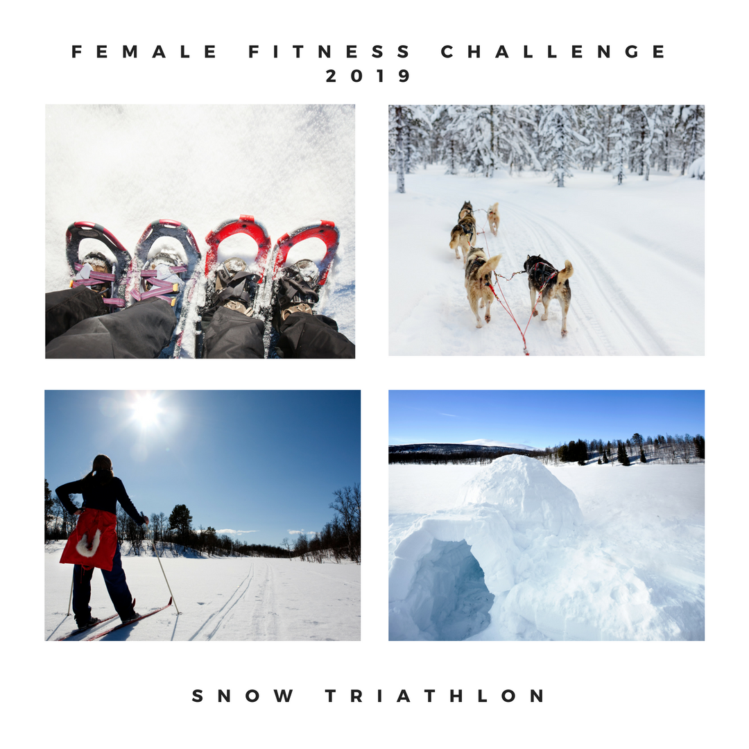 Female fitness challenge 2019