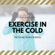 exercising outdoors in the cold weather